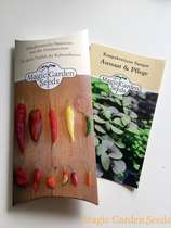 Chili cultivation set (unheated):' Basic - Hottest chillies in the world', 5 extremely hot varieties of chili seeds with propagator & sowing accessories #4